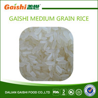 Gaishi high quality medium grain white rice for sale