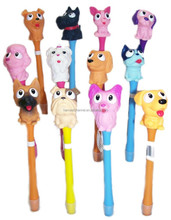 new design 3D cute Cartoon Made In Dongguan Ball Pen