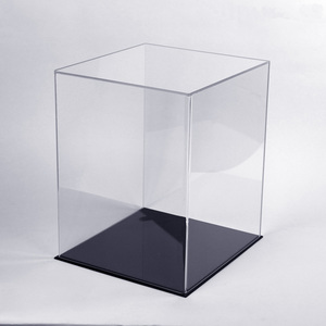 Custom Clear Acrylic Baseball Hat Display Case Helmet Display Case