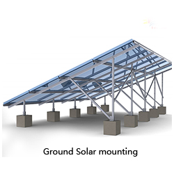 3000w Ground and Roof Mounting, Solar Sun Tracker