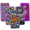 for samsung galaxy s5 cover cases customized mandala flower design high quality 3D hard case