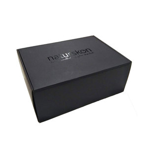 Wholesale price black mailing corrugated shipping boxes packaging box cardboard