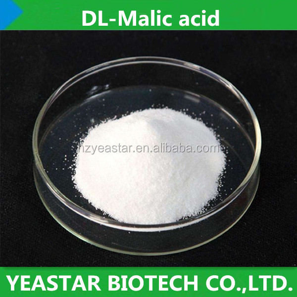 Natural Organic DL-Malic Acid Food Additive DL Malic Acid for Beverage