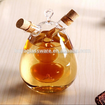 Clear Transparent Glass Cooking Oil Kettle Sauce Pot Buy Glass