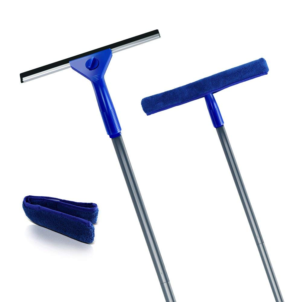 Red Haviland H-6 EPDM Rubber 2 Ply Window Squeegee 6 Length
