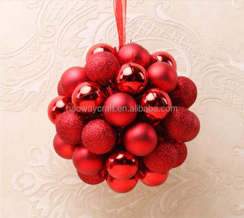 large christmas balls ornaments bulk christmas ball set - Large Christmas Ball Ornaments