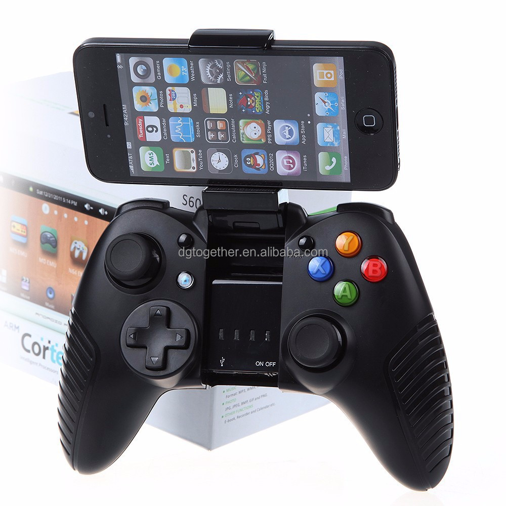 together ios/android Bluetooth Wireless Game Controller rohs Gamepad Joystick for iPhone/Pod/Pad/Tablet PC