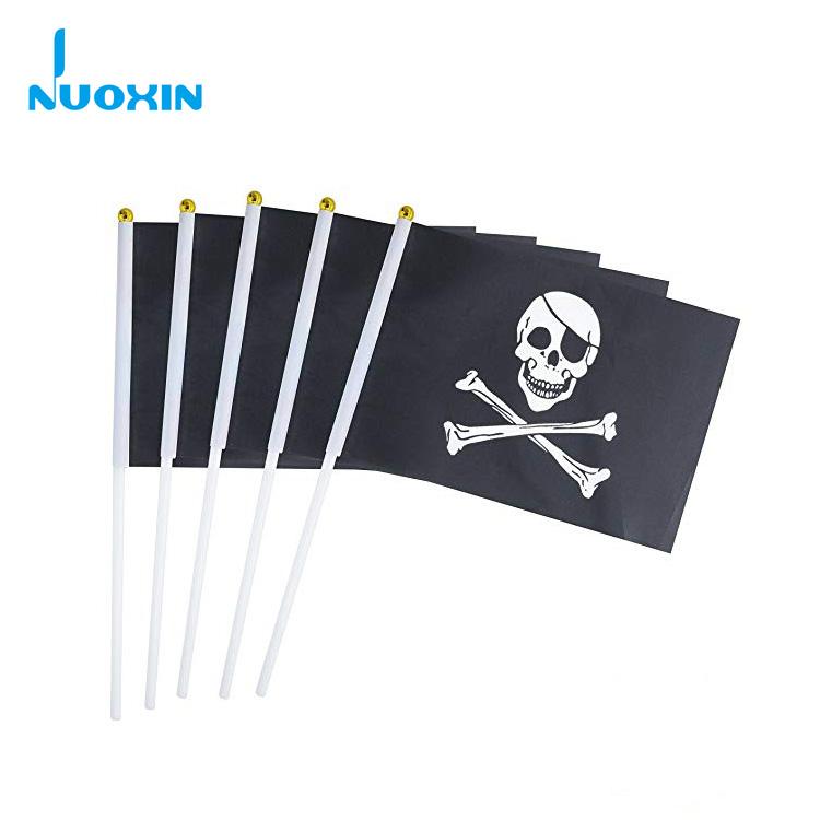 Fahne Pirat Skull and Bones Flagge Piraten Hissflagge 90x150cm