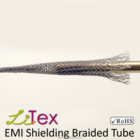 aramid flexible sleeve emf shielding for cable
