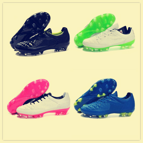 factory authentic 75231 04dd4 Get Quotations · Men s Football Boots Tiempo Legend V FG Soccer Boots  Soccer Cleats size 39-45