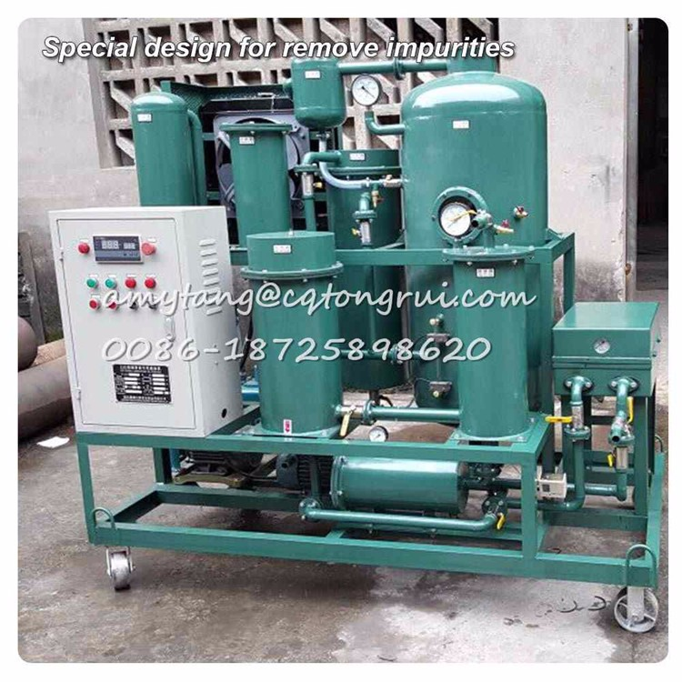 Hydraulic Oil cleaning Machine degas, remove large water and impurities