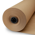 "Fulton FDA approved Printed Pink kraft Butcher Paper Roll 18"" x 175' USA MADE For Smoking BBQ Meats & Brisket"