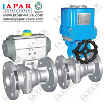 Pneumatic Actuator Ball Valve,Fire Safe Flanged Connection