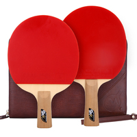 Double Fish 9A table tennis bat with ittf quick attack ping pong racket
