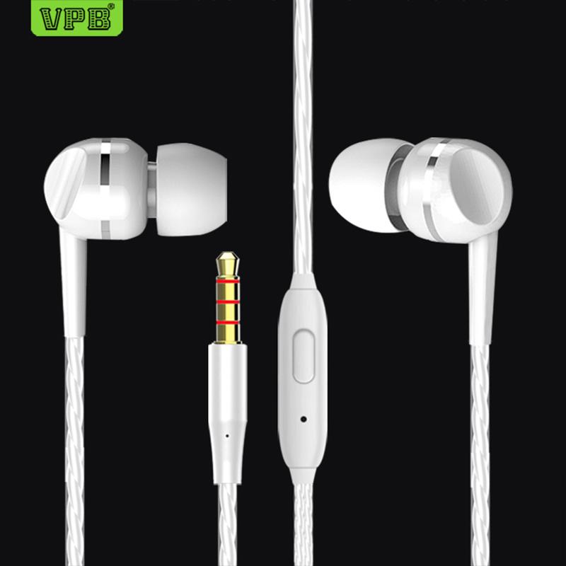VPB S23 earplugs bass classic headphones computer headphones Male and female general-purpose earphone wholesale.