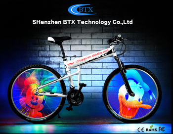 Fcc ce rechargerable batteria illuminazione a led bici mountain
