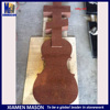 Red russian granite guitar headstones for funeral accessories
