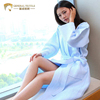 JR681 Factory Wholesale Kimono Collar Full Length Waffle Cheap Bathrobes