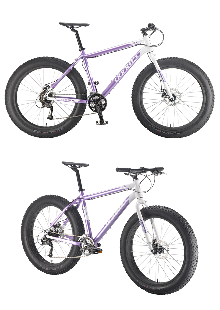 Professional OEM ODM design custom brand alloy frame 26'' fatbike china beach cruiser cycling fat bike snow bike bicycle