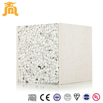 Nonbearing Wall Solid Interior Decoration Material Precast Foam Cement Wall Sandwich Panel