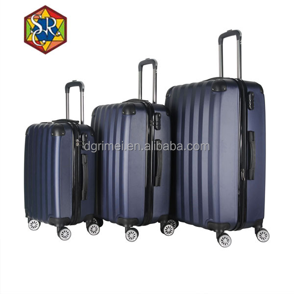 2016 travel trolley 360 wheel abs trolley luggage