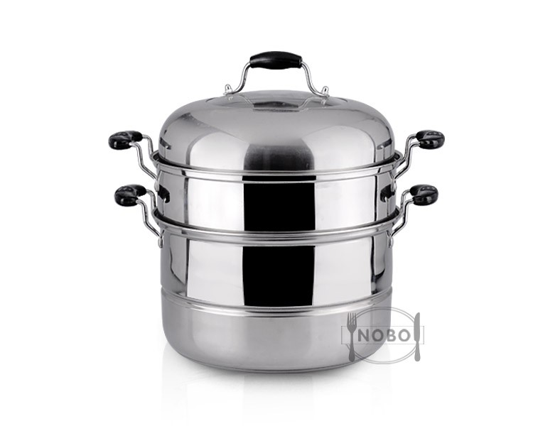 Japanese hot stainless steel non electric steamer pot