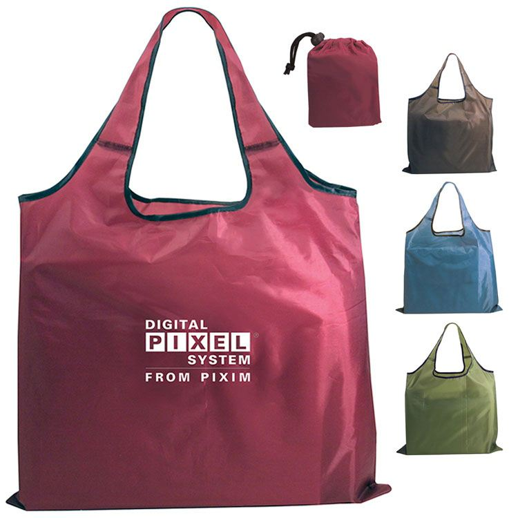 Wholesale Competitive Price Nylon Folding Shopper Tote Bag