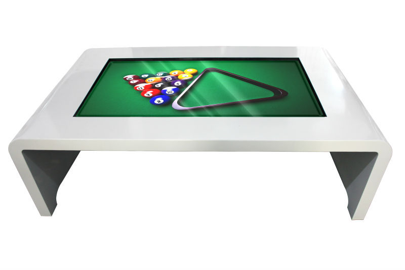 lcd monitor touch screen coffee table built-in pc network touch table