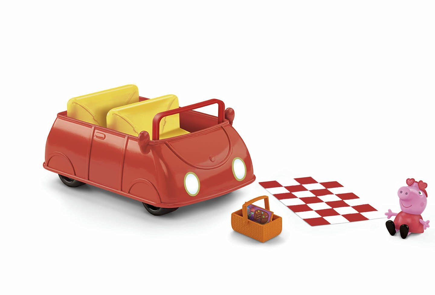 Fisher-Price Peppa Pig: Peppa's Picnic Adventure Car