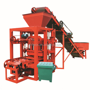 Interlocking brick machine red clay brick making machine price