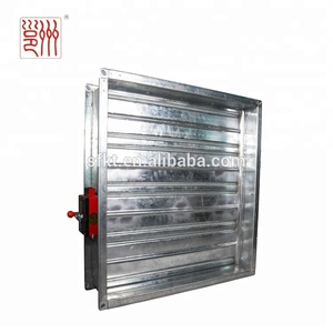 Manual or electric Fire damper for HVAC system in good quality