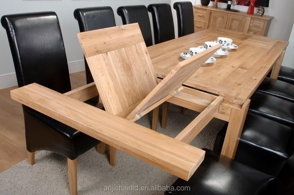 Roble macizo extra grande mesa de comedor para restaurante y ...
