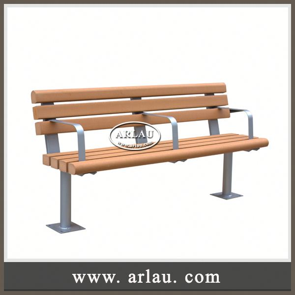Arlau Luxury Furniture,Garden Use Outdoor Wooden Bench,Seats 2 Porch Double White Wooden Bench Long Chair