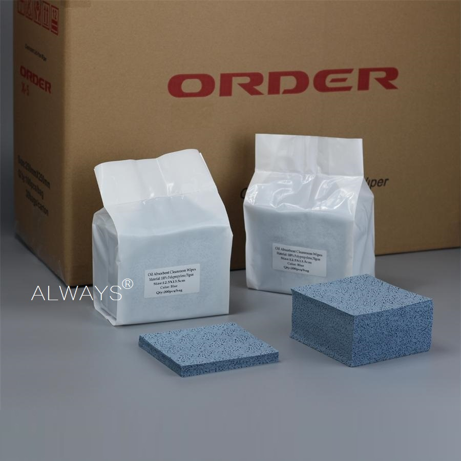 Meltblown Polypropylene nonwoven wiping Automobile part moulds cleaning cloths
