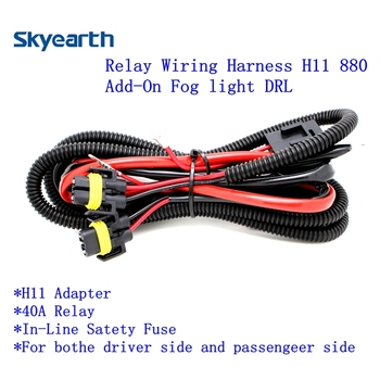 relay wiring harness for hid h11 880 conversion kit add on fog rh wholesaler alibaba com Installing a Headlight Wiring Harness Installing a Headlight Wiring Harness