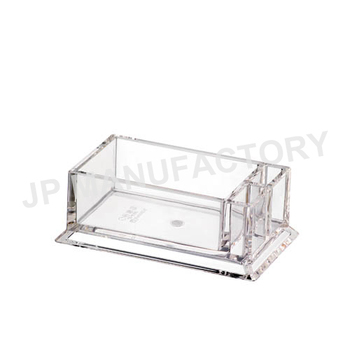 Crystal Clear Acrylic Tea Bag Holder Sugar Caddy 9060