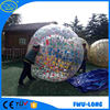 TPU bumper balls with colorful hooks size 1.25m/1.55m/1.8m inflatable belly bumper ball/bubble ball for outdoor football