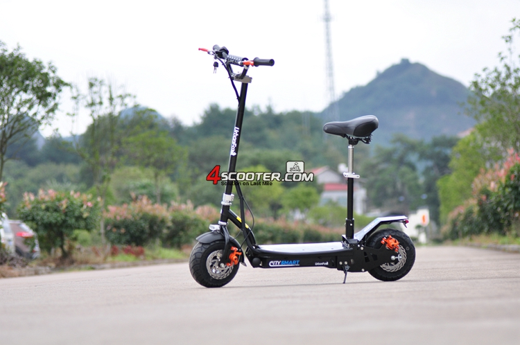 atrractive goods kick scooter elektro scooter solar powered scooter