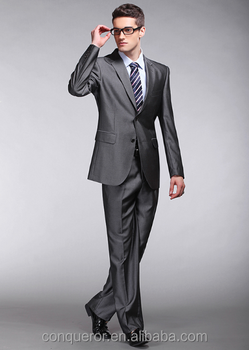 06ff17b575a593 High Class Men Silver Business Suits Wedding Suits - Buy New Style ...