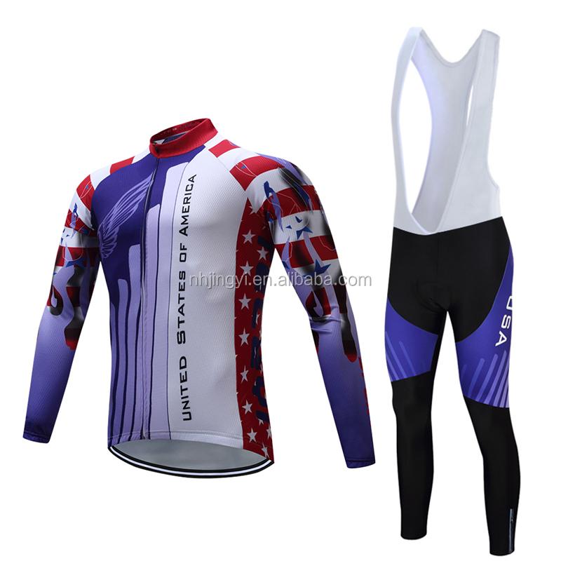 Respirável quick dry bicicleta de corrida de bicicleta do esporte uniforme bibset ciclismo personalizado barato jersey camisas
