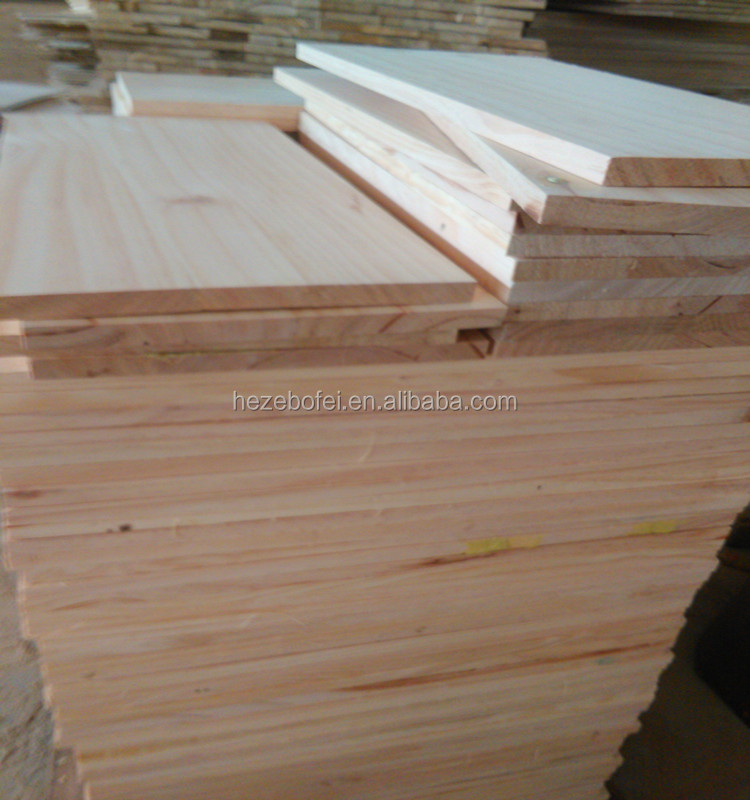 China Radiata Pine edge glued panel/ board