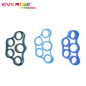 Silicone Hand Grip Finger Exerciser Extensor Bands
