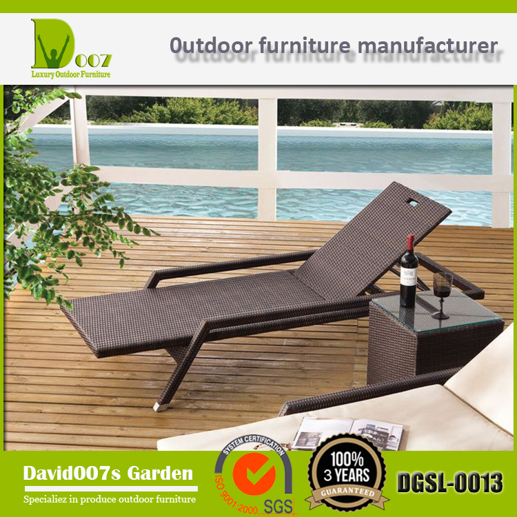 Newest Design High Quality DGSL-0013 slumber bed sun lounger