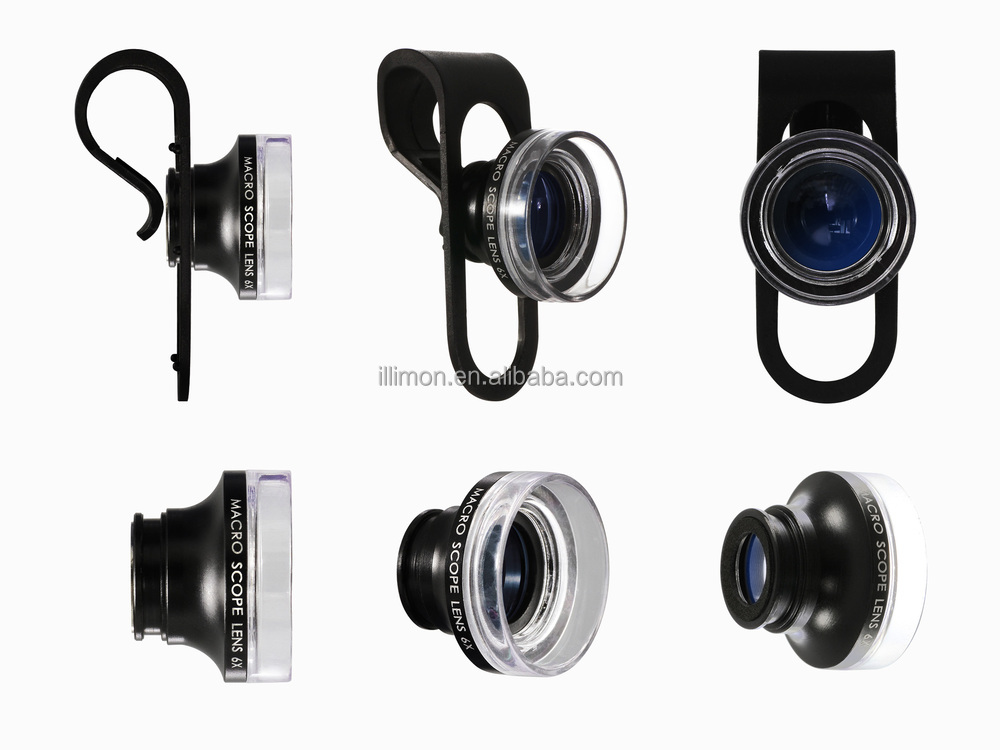 Illimon China Manufacturer Macro Lens Cp-6x 24x Mobile Camera Lens ...