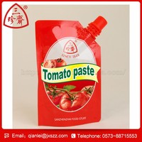 suction nozzle food bag tomato paste italy halal tomato paste ketchup