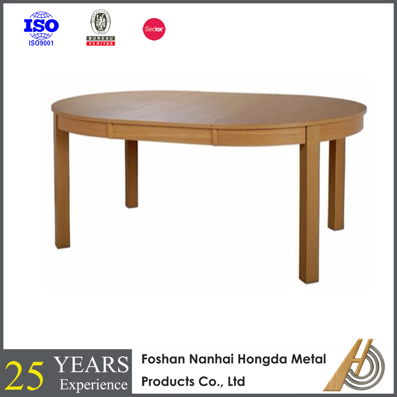 Mdf de madera extender mesa redonda de la fábrica-Mesas de madera ...