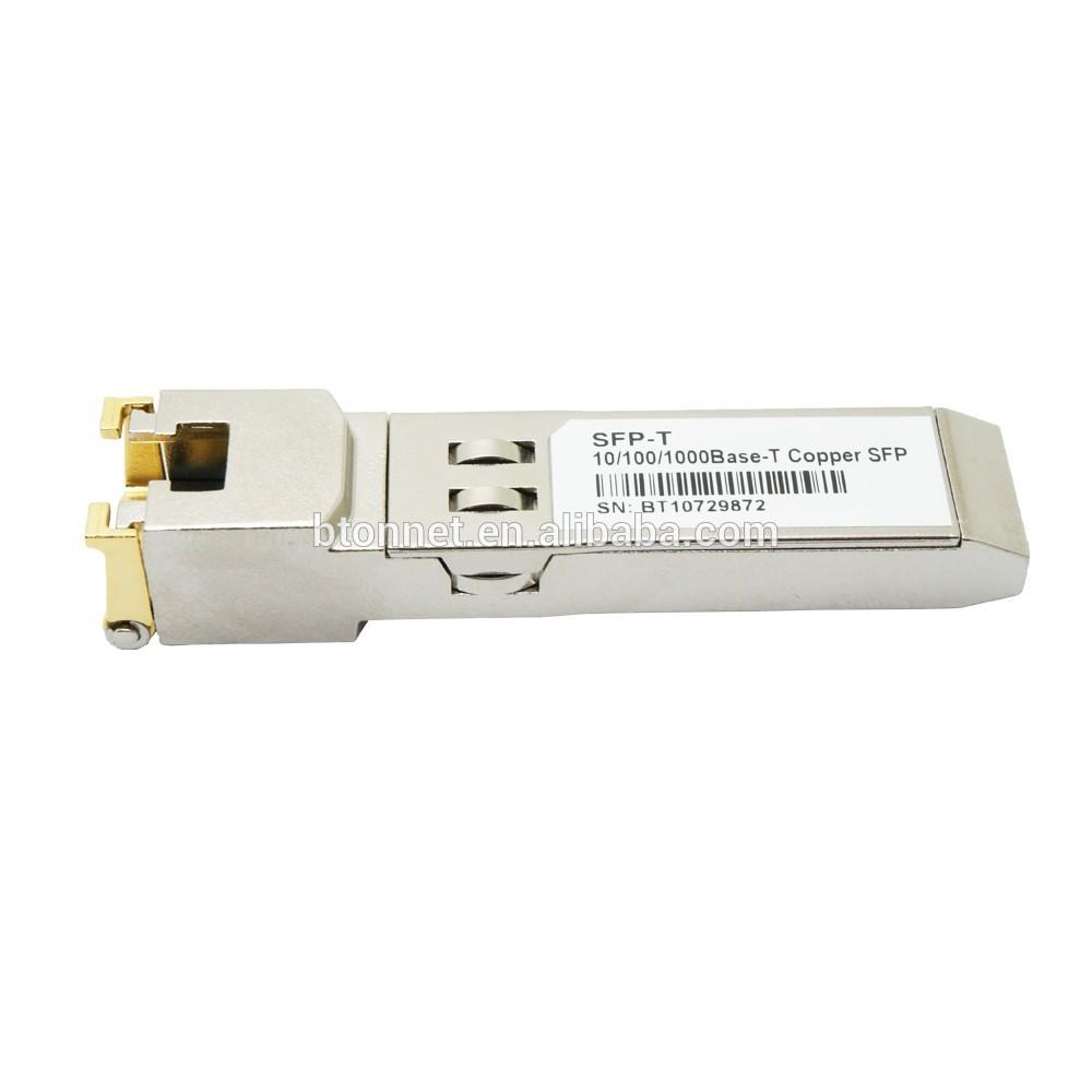 SFP Transceiver 1000Base-TX SFP 1.25G RJ45 E1MG-TX For Foundry