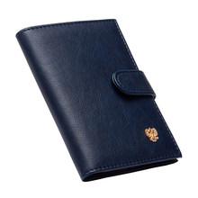 Портативный дорожный держатель для карт с русским рисунком, Обложка для паспорта, бумажники для документов, прочный защитный держатель для ...(Китай)