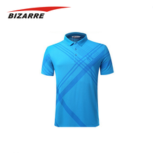 Classic gym dye sublimation polo shirts for men