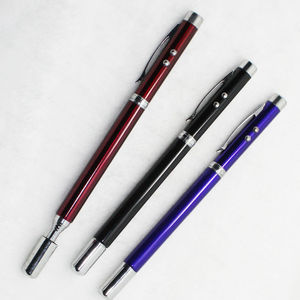 hot new products for metal touch pen with light/ electric metal pen/ LED pen